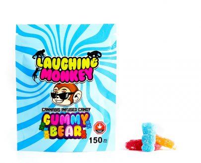 laughing monkey gummy bear