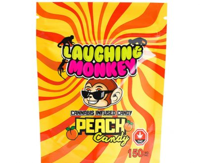 Laughing monkey peach candy 17